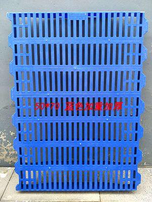 50*70蓝色加重加厚塑料漏粪板
